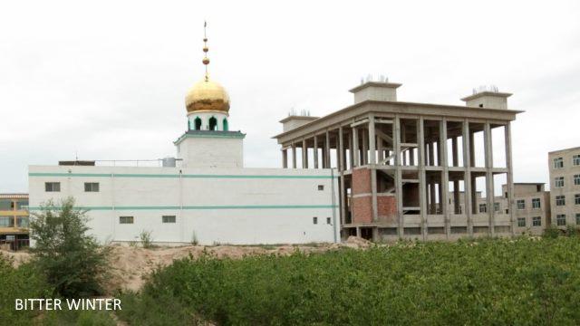 Mosquée chinoise,chinois musulman,religion chine