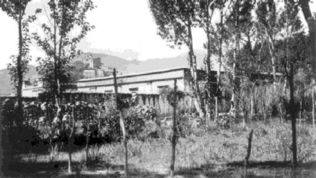 L'école anglaise de Gyantsé au milieu des années 1920