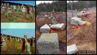 Plus de 1 200 statues d'Arhat démantelées