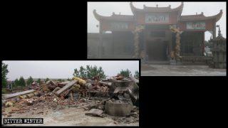 Sans abri ni le moindre sou après des démolitions de temples