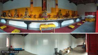 Adoration du Bouddha caché