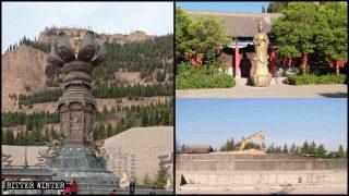 La Chine détruit les statues énormes de Guanyin dans des sites touristiques nationaux