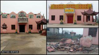 Fermeture et métamorphose de temples bouddhistes et taoïstes