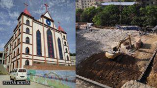 Pasteur mise en résidence surveillée et croyants menacés, une église a été rasée