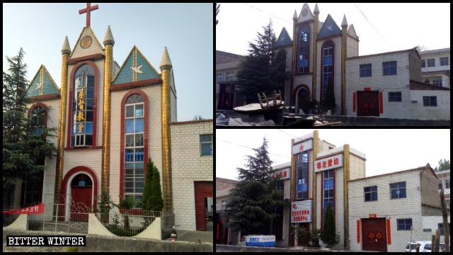 L'église des Trois-Autonomies dans la ville de Jinping a été « sinisée ».