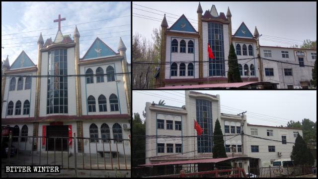 Le style de l'Église des Trois-Autonomies de Liuquan a été transformé pour la rendre plus chinoise.
