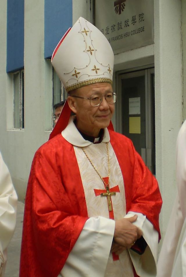 Cardinal John Tong Hon, Manifestations de Hong Kong : le facteur catholique