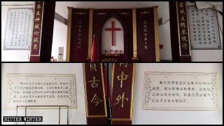 Des citations de Xi Jinping à la place des dix commandements dans les églises