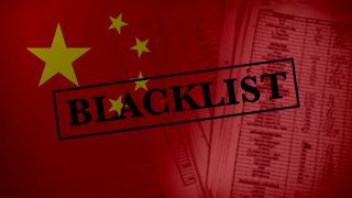 Ce que signifie être sur la liste noire du régime chinois